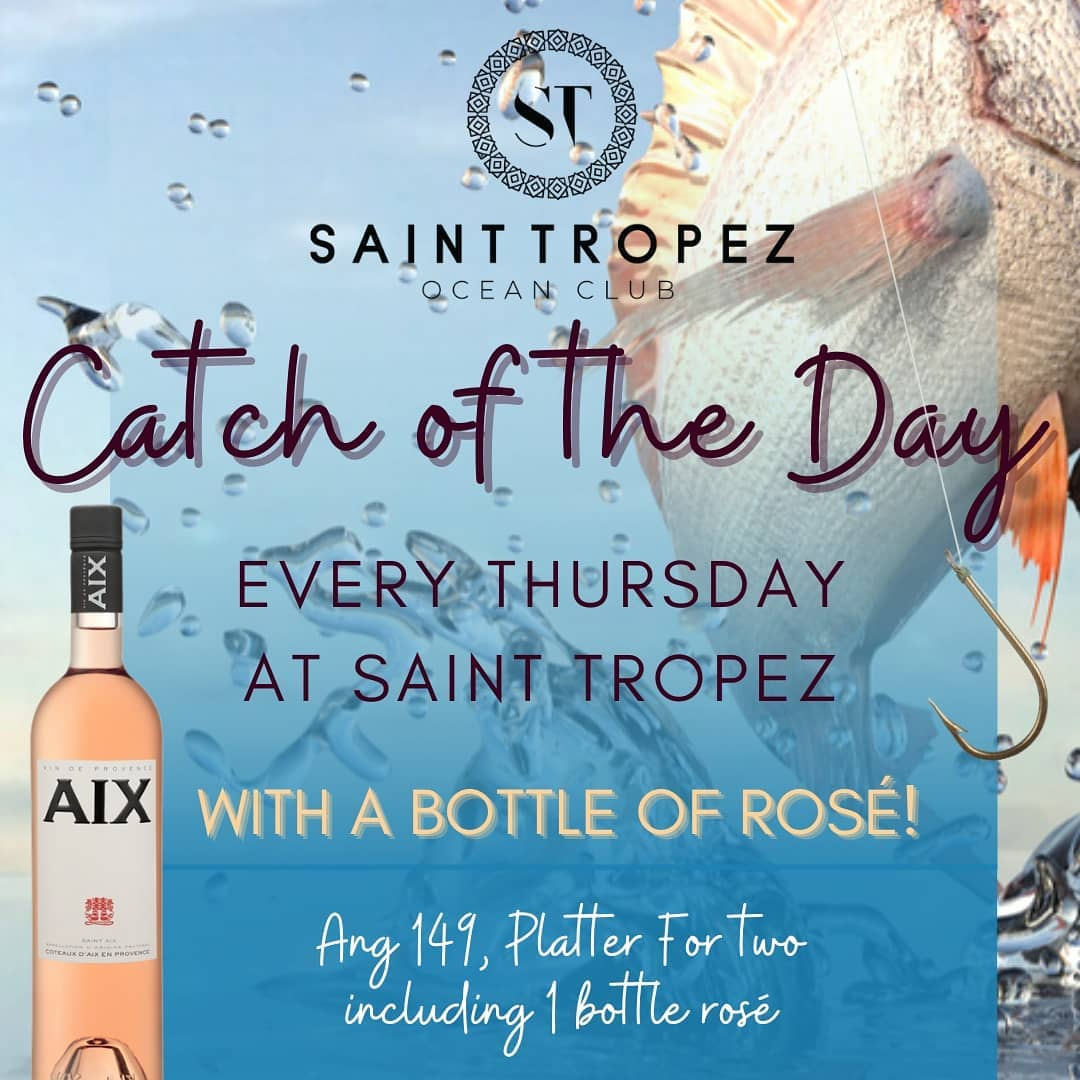 THURSDAY: Catch of the Day & Rosé